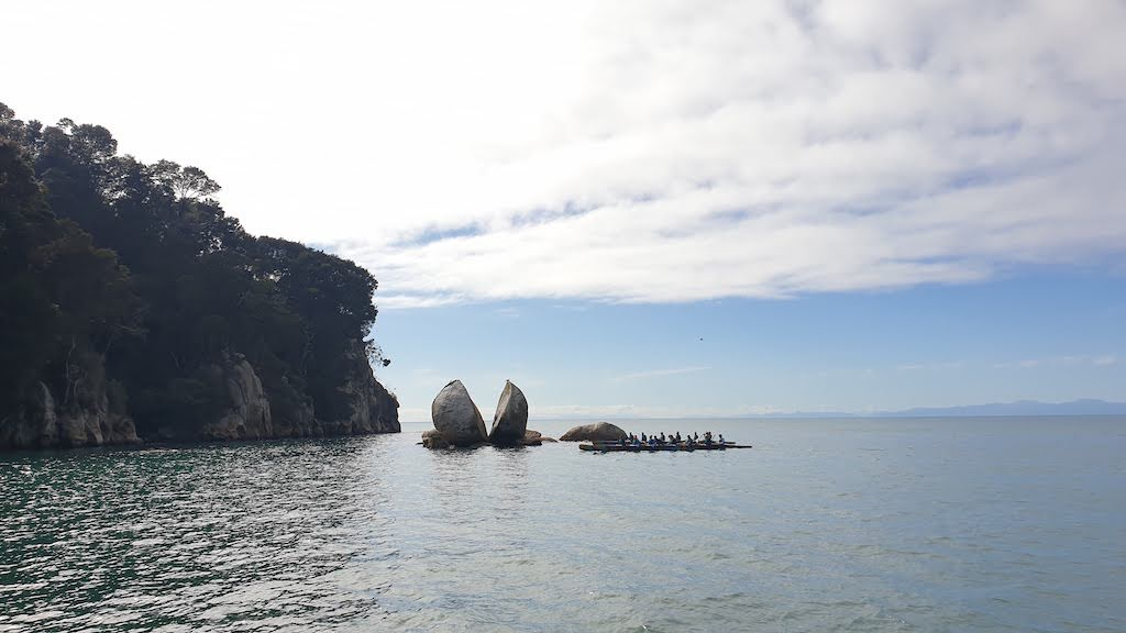 Split Apple Rock Abel Tasman