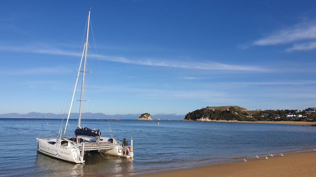 voilier d'Abel Tasman Sailing Adventures