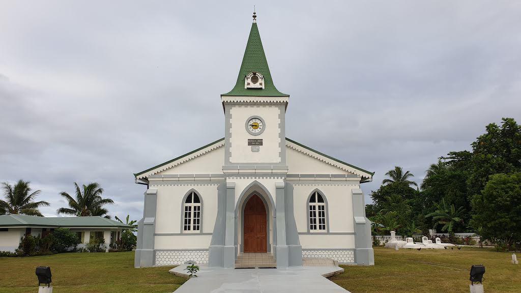 Temple protestant d'Haapiti Moorea