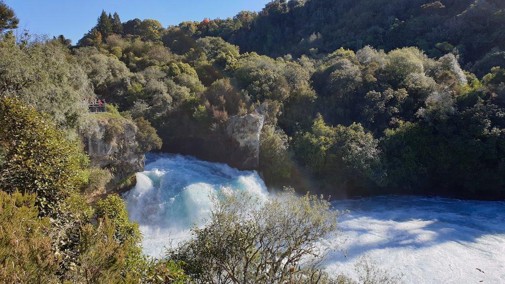 Huka Falls lac Taupo