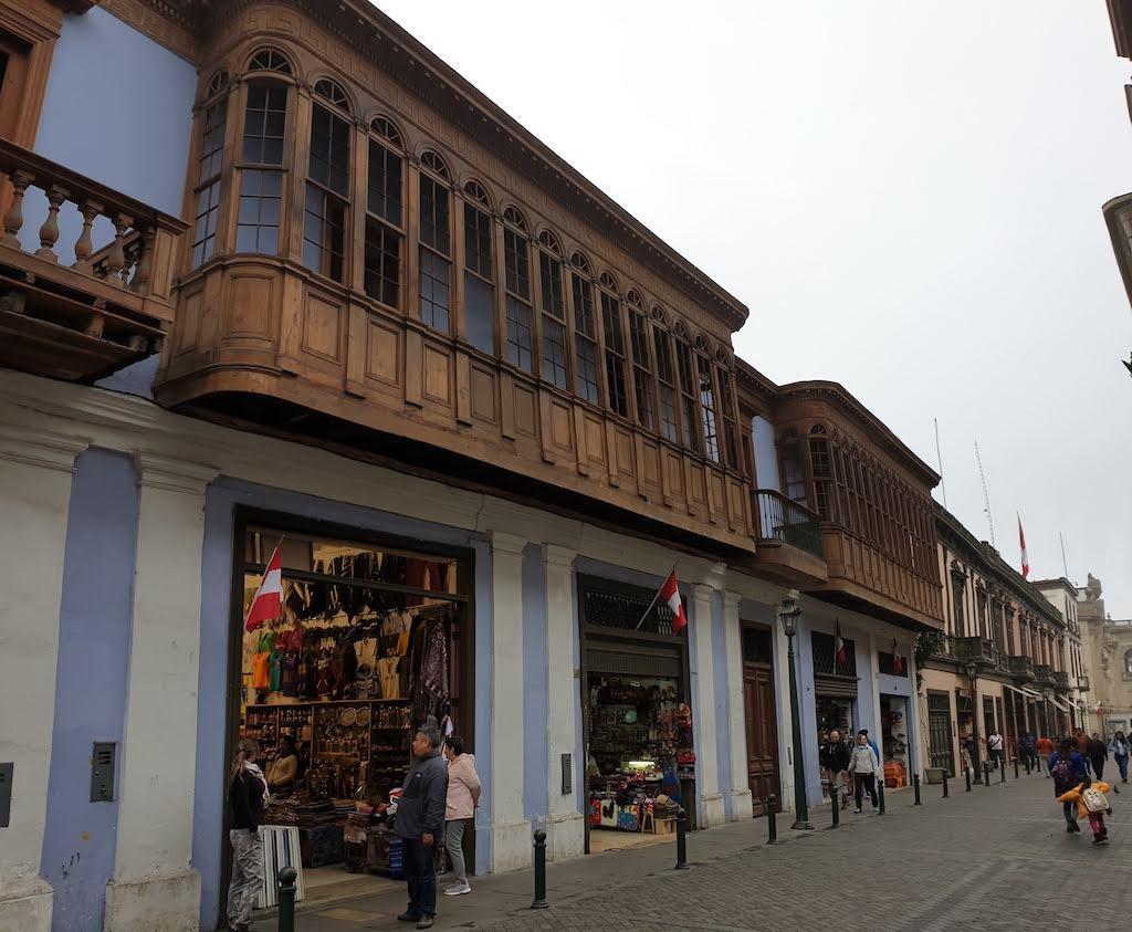 maison coloniale Lima