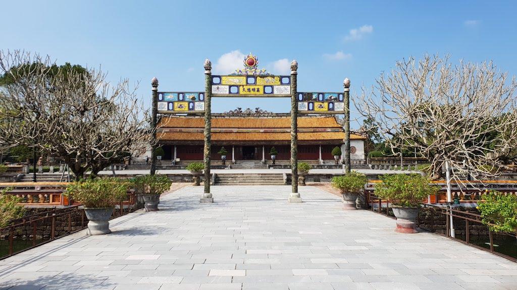 Citadelle Hué Palais du trône