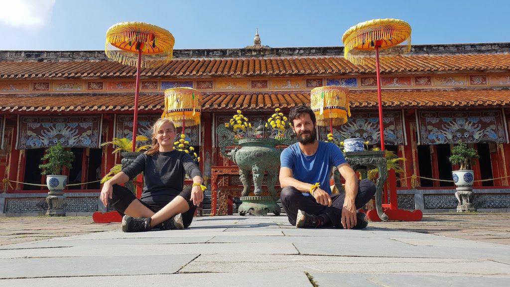 Citadelle Hué Temple de culte des empereurs Nguyen