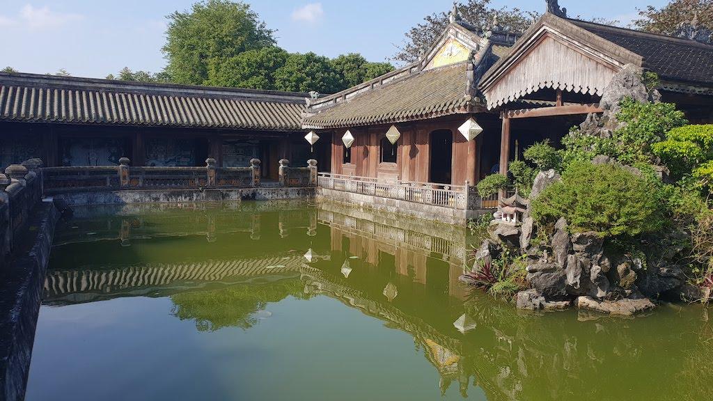 Citadelle Hué Palais de la Reine-Mère