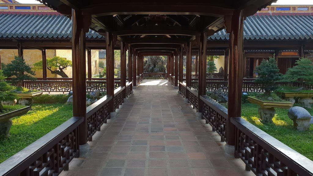Citadelle Hué Pavillon de lecture