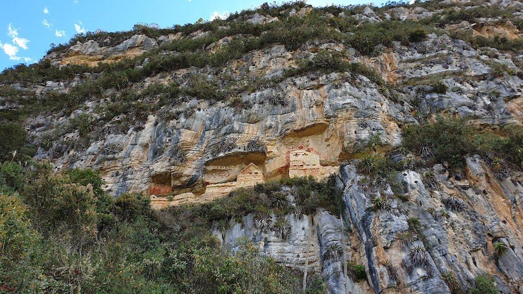 Revash accessible depuis chachapoyas