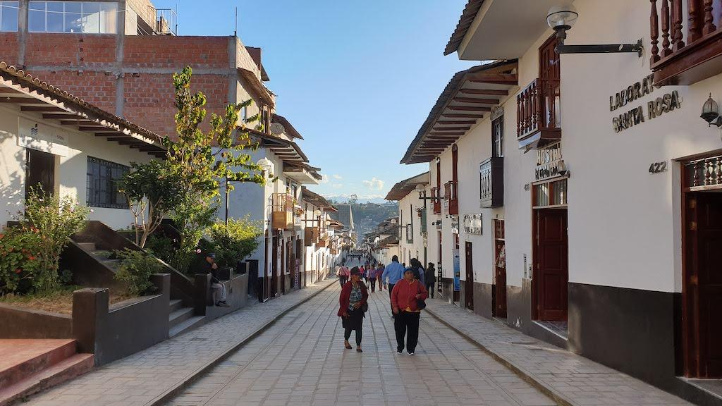 rue principale de chachapoyas