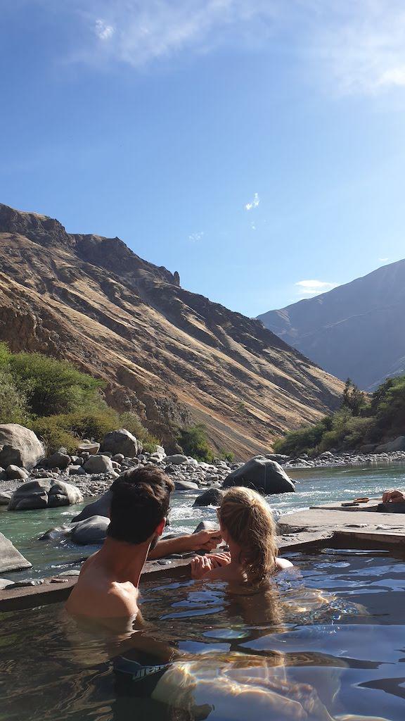 Canyon de Colca sources eau chaude