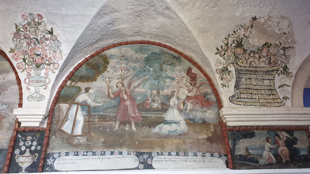 Couvent Santa Catalina cloître des Orangers Arequipa
