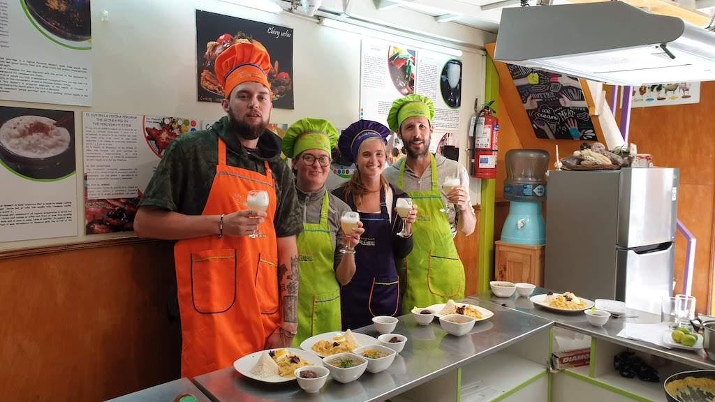 Peruvian Cooking class Cusco