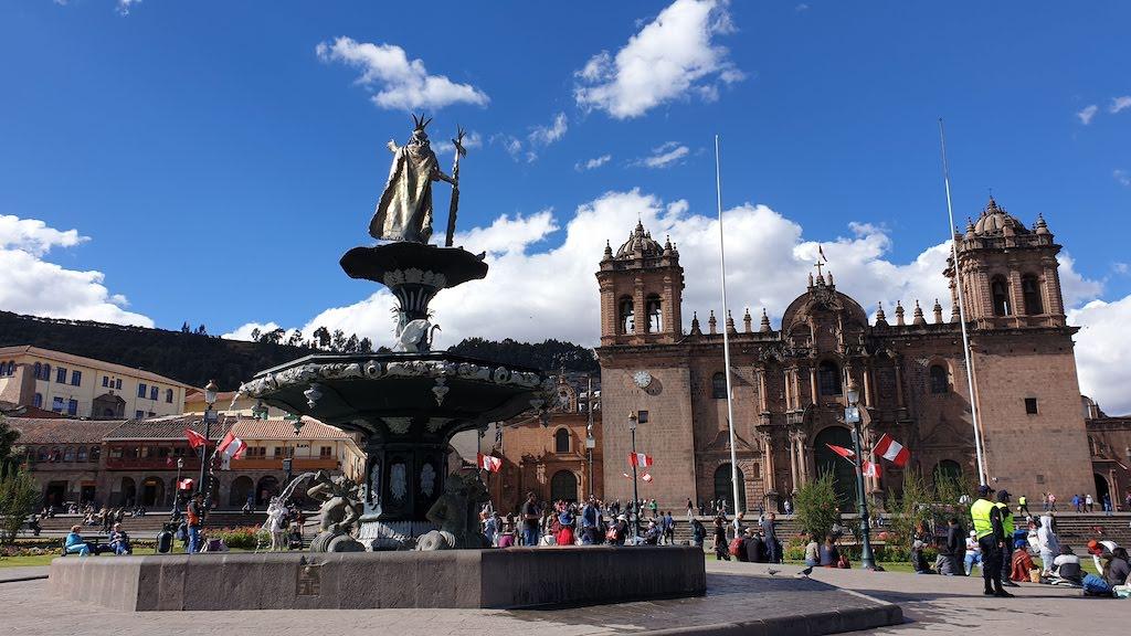 Plaza de Armas Cusco Pérou