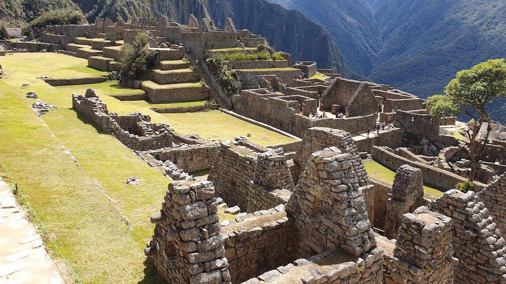 Maisons inca Machu Picchu