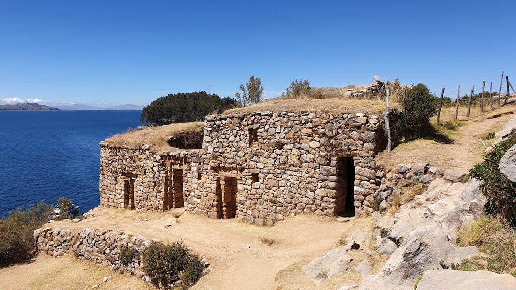 Ruinas de Pilkokaina Isla del Sol lac titicaca