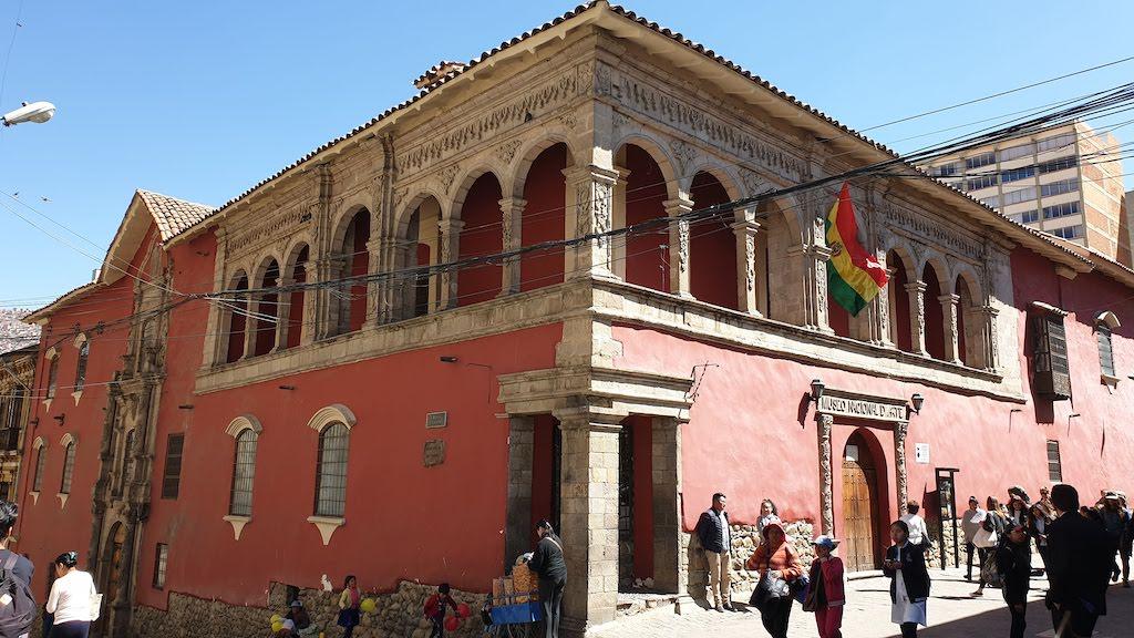 Museo nacional de Arte La Paz