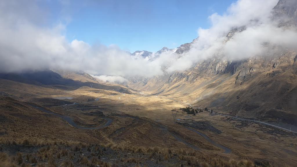 Route La Paz Rurrenabaque