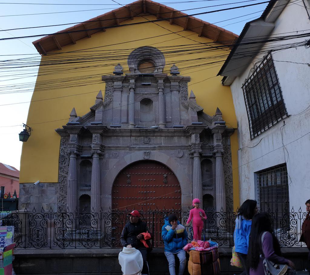 Iglesia San Augustin Potosi