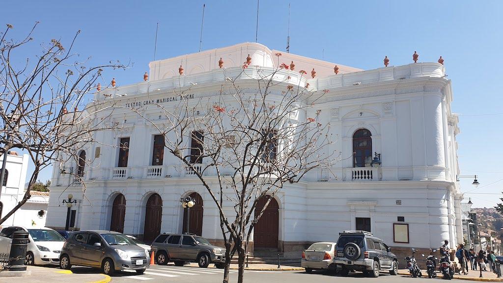 Théâtre Plaza de la Libertad Sucre