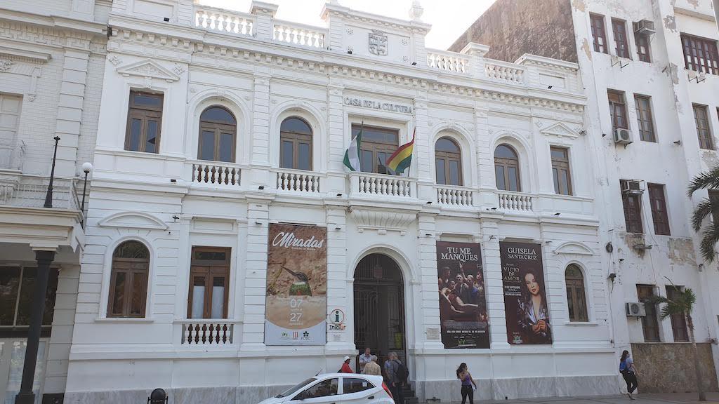 Casa municipale de cultura Santa Cruz