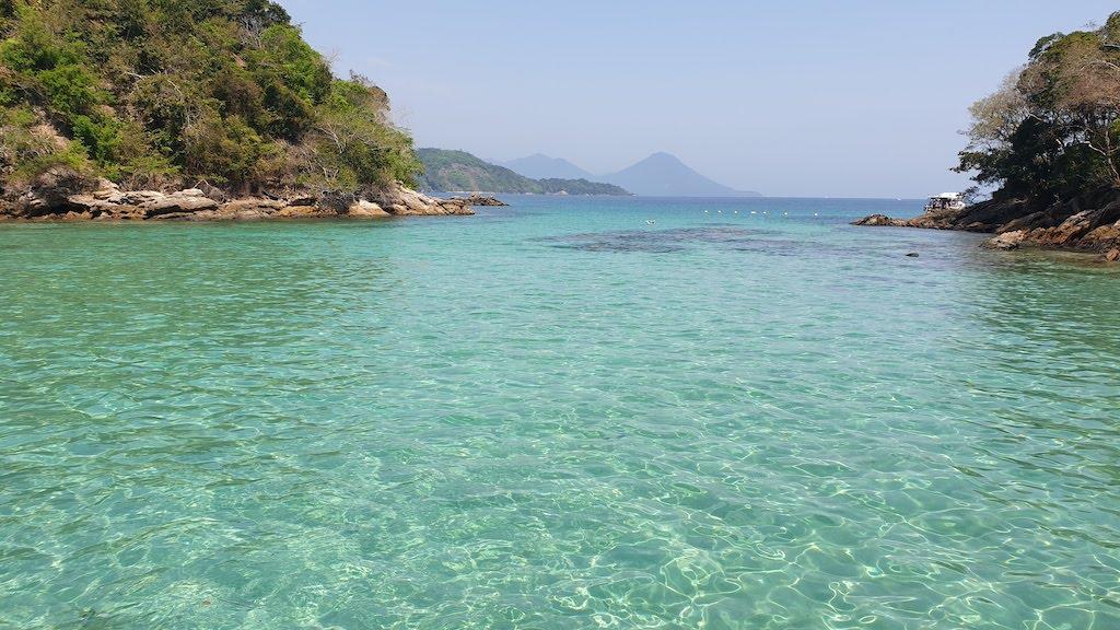 Lagoa azul Ilha Grande