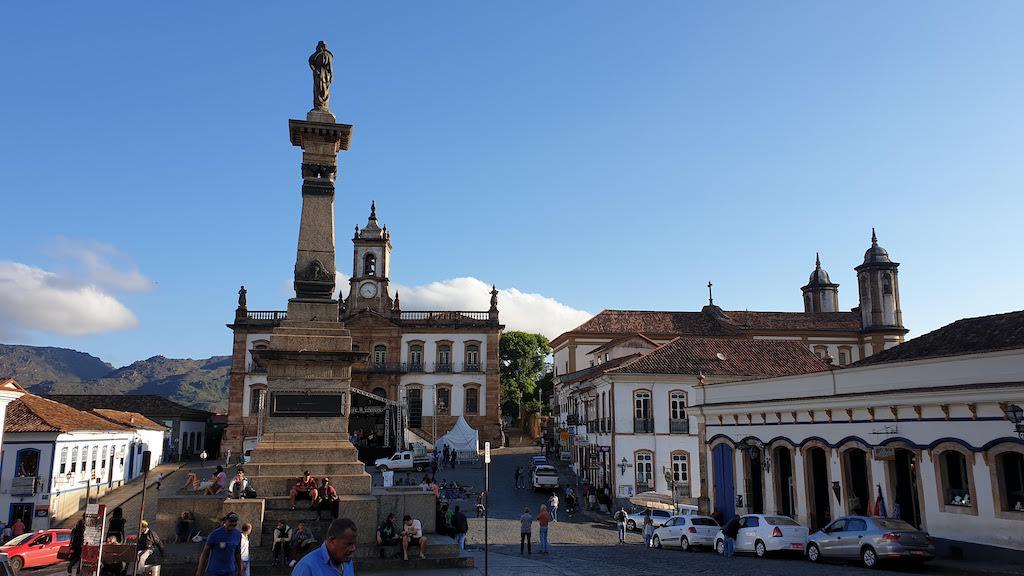 Place Tiradentes Ouro Preto