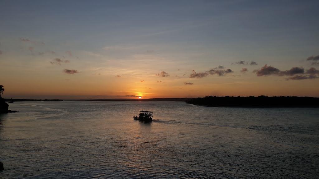 coucher de soleil Tibau do Sul