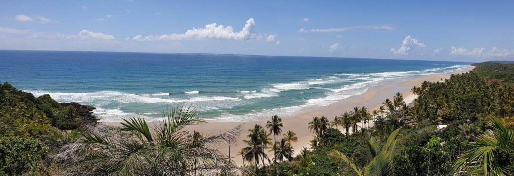 première plage Itacare