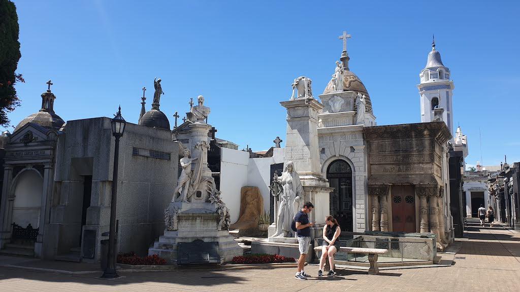 Cimetière la Recoleta à visiter à Buenos Aires