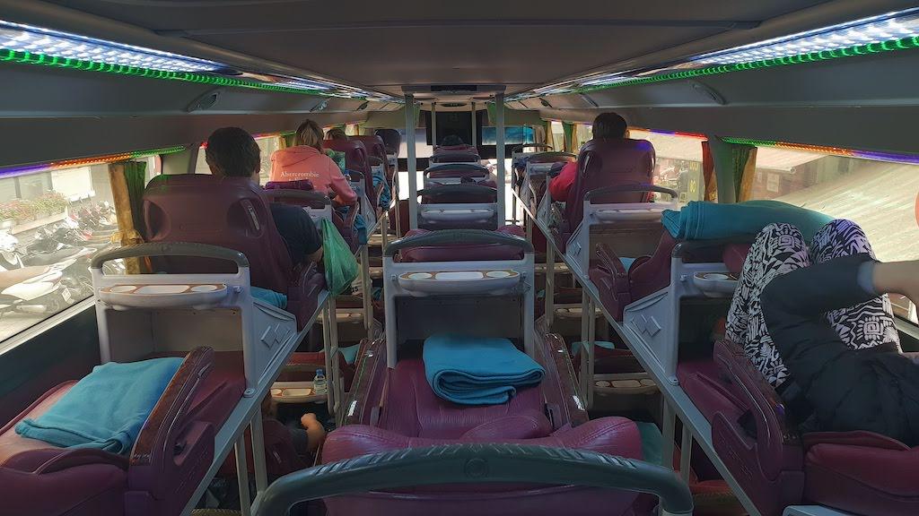 Bus couché au Vietnam : exemple de choses à ne pas trop préparer pour son tour du monde