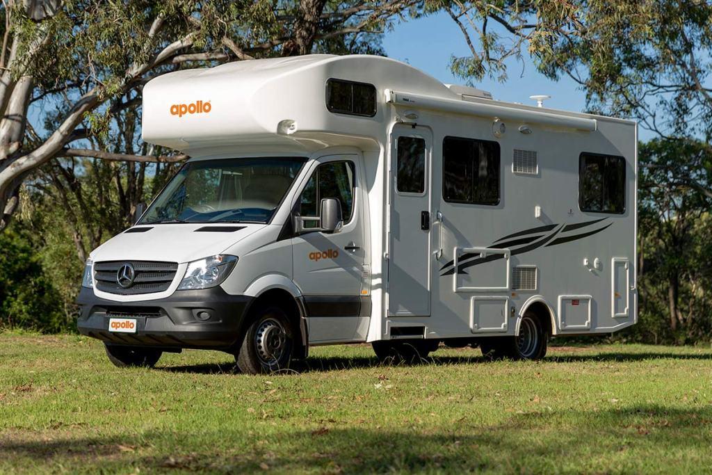 camping car apollo en australie