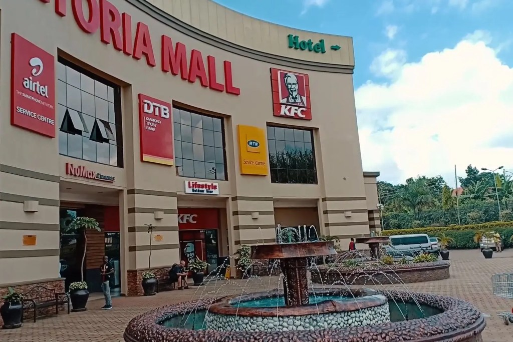 Victoria Shopping Mall in Entebbe