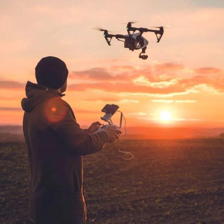 Operating a Drone in Uganda