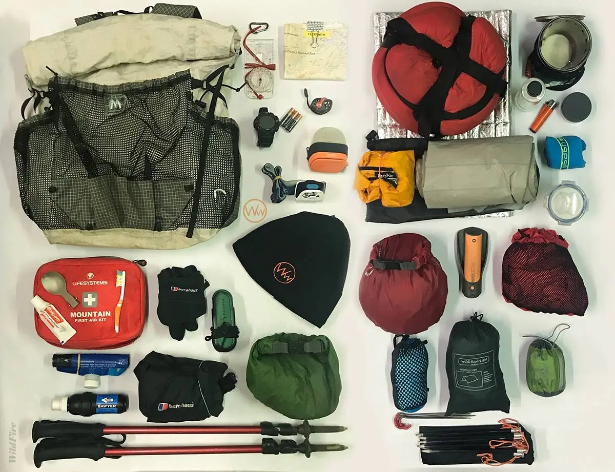 A complete camping Gear Packing List for hiking and trekking in Uganda
