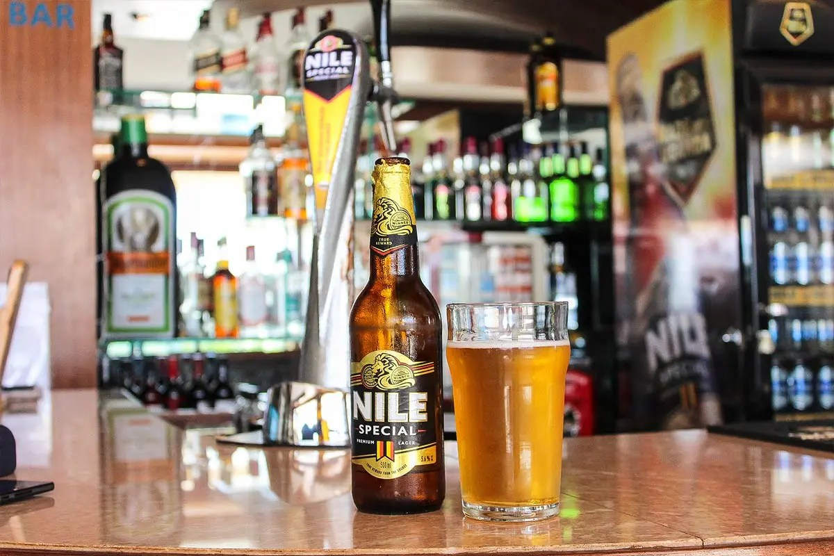 Nile Beer in Uganda