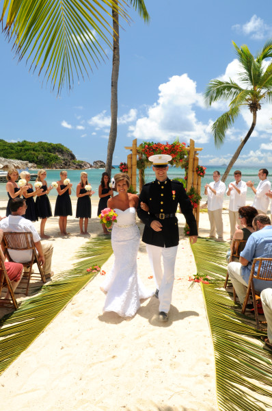 Military Wedding Discounts At Bolongo Bay In The US