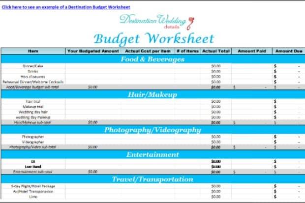 Destination Wedding Checklist | Destination Wedding Details