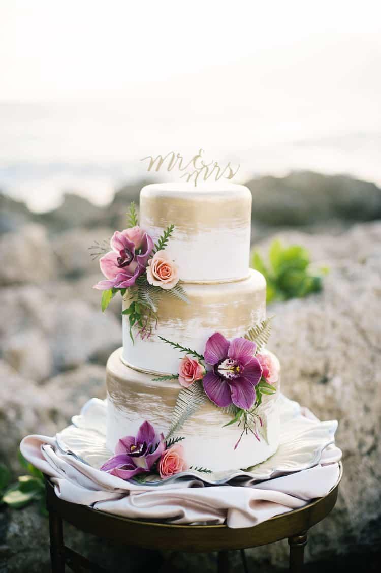 Tropical Beach Wedding Inspiration In Makaha Hawaii