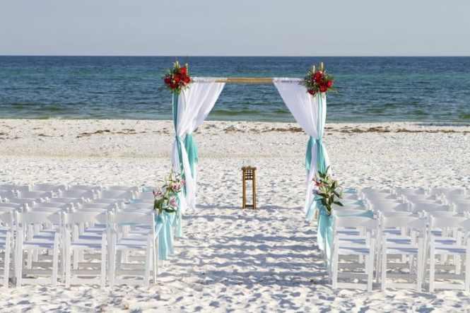 Outdoor And Garden Wedding Ceremony Arch Decoration Ideas Indoor