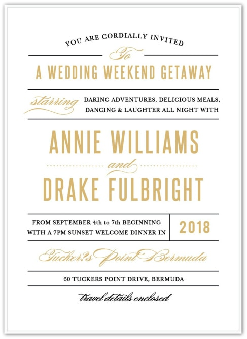 Cruise Wedding Invitation Wording Examples PaperInvite