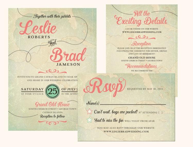 Cheap Tri Fold Invitations