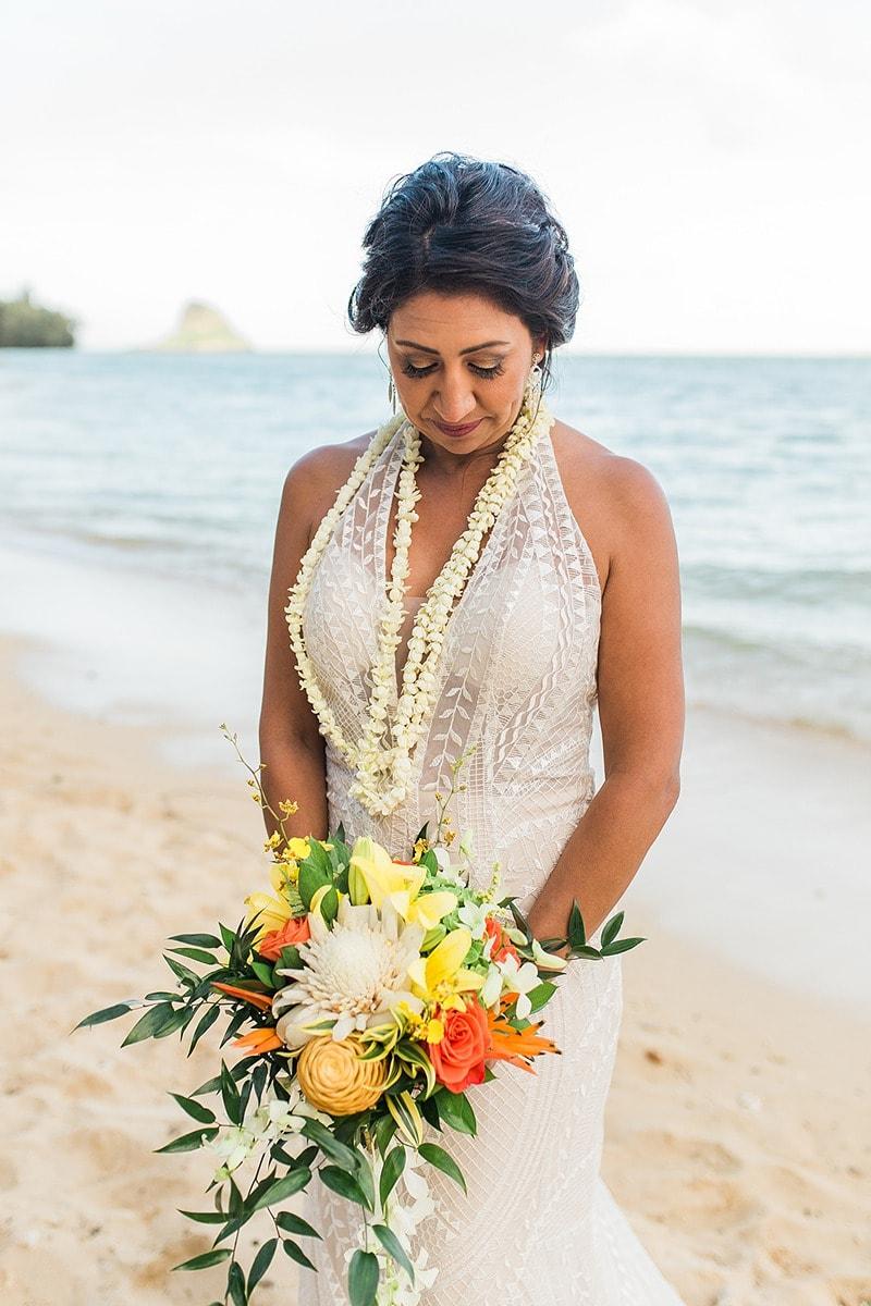 destination wedding private oahu beach 2010