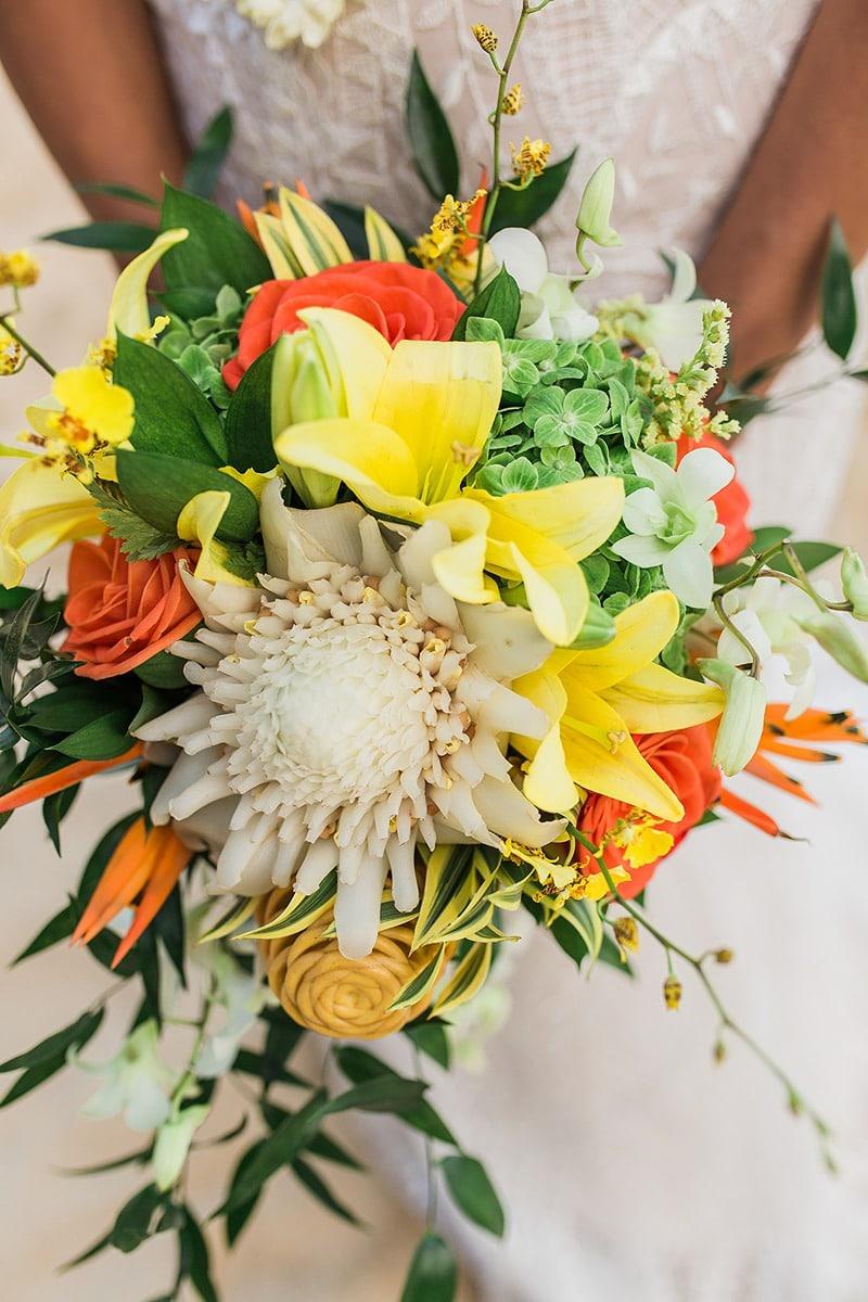 destination wedding private oahu beach 2011