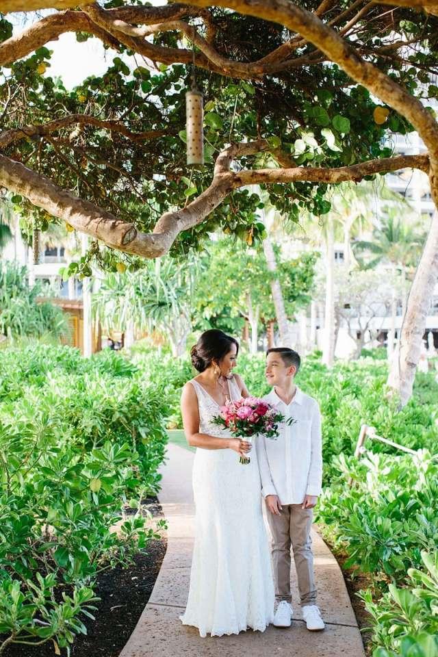 photos de mariage oahu quatre saisons 0098