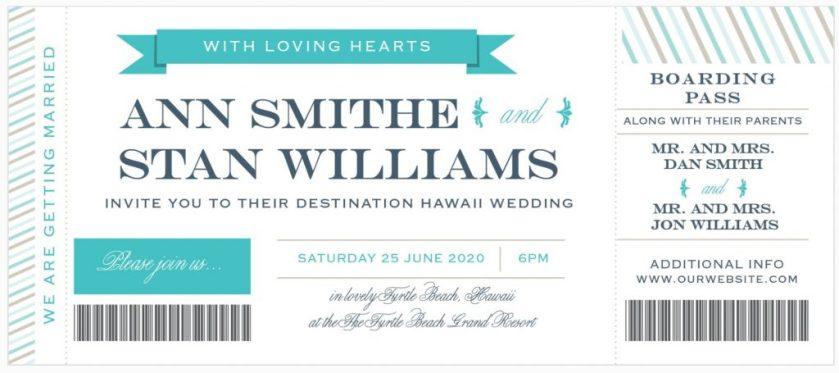 When To Send Destination Wedding Invitations