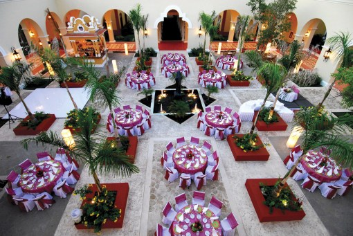 Stunning Setting for Destination Wedding Reception