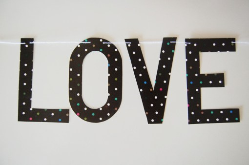 Love PaperGarland by Frenchtoastfridays