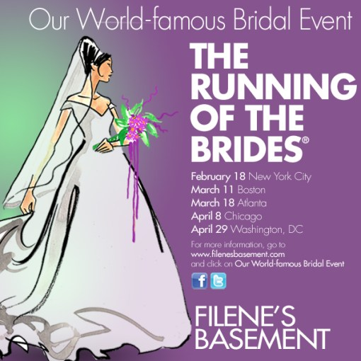 The Running of the Brides, Filenes Basement