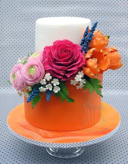 Cake for a Destination Wedding