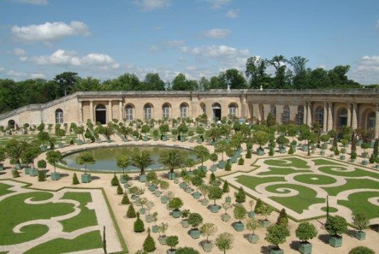 Parterre of the Orangerie
