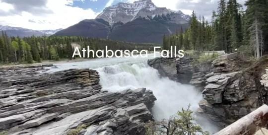 Jasper – Athabasca Falls