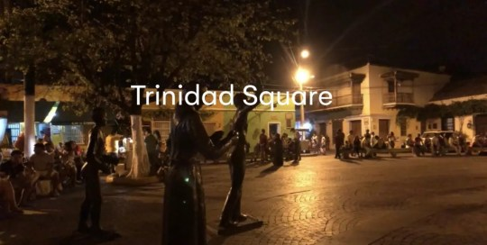 Cartagena – Trinidad Square